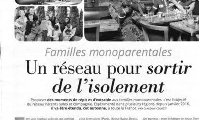 Sortir de l'isolement – Famille mono parentales